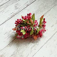 Сложные тычинки на проволоке, сахарные красные, фото 1