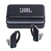Беспроводные bluetooth наушники JBL Z2 5.0 Черные + умный чехол для зарядки