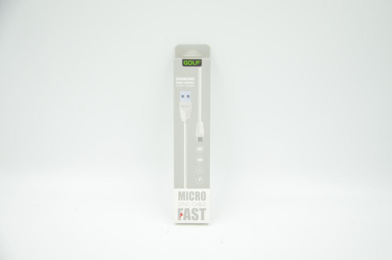 Кабель USB Golf GC-27M с выходом Micro USB