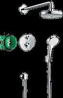 Душовий комплект Hansgrohe Croma Select S / Ecostat S 8в1 хромований