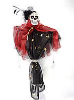 Скелет Скелетон Дама в шляпе Декор для Хэллоуина, фото 1