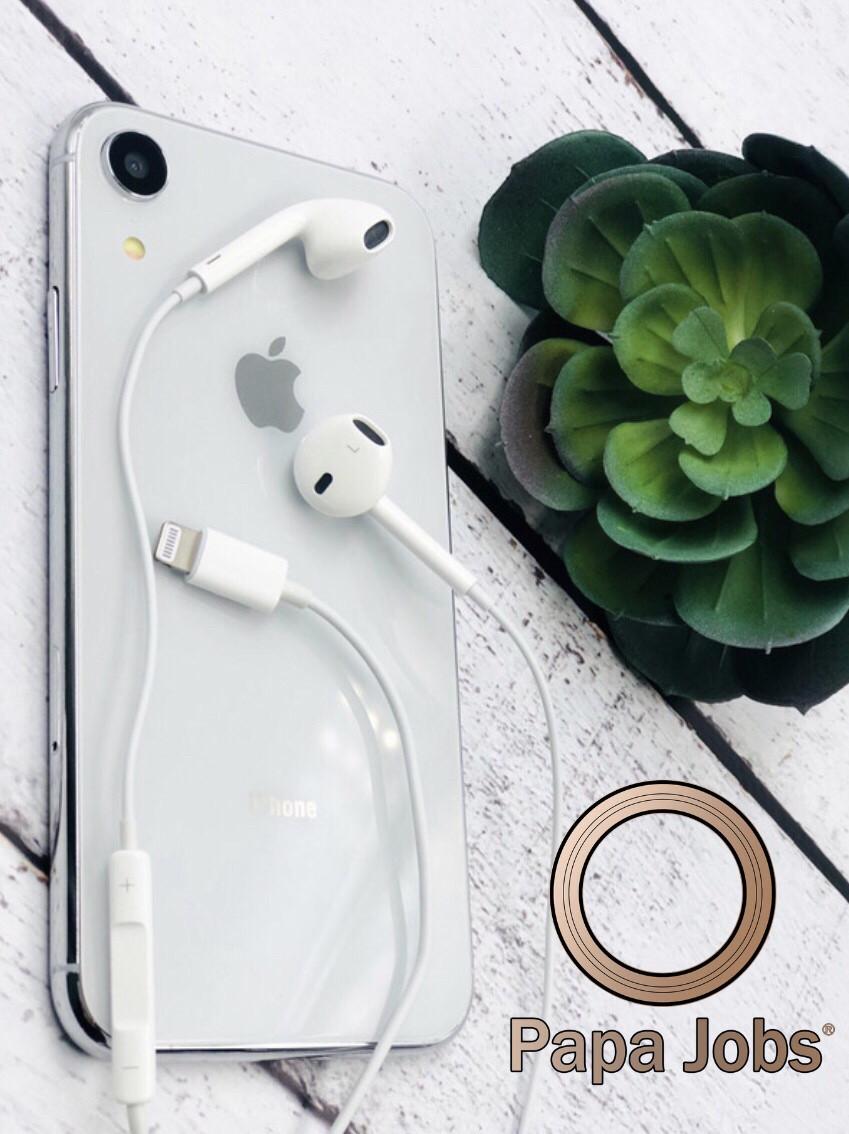 Наушники Apple EarPods Lightning для Айфона 7 ( Оригинал )