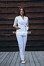 """Жіночий медичний костюм """"Бланко"""", фото 2"""