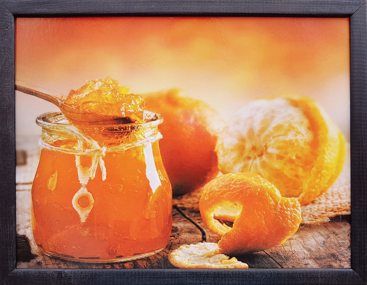 """Фотокартина в деревянной раме """"Oranges 1"""", 30х40 см"""