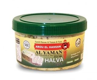 Халва кунжутная с фисташками Al Yaman 907 грамм