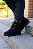 """Зимние ботинки на меху """"Черные"""", фото 2"""