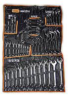 Набор профессиональных комбинированных ключей 6-32 мм, CrV, 47 шт., Richmann/Corona (C6347), фото 1