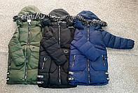 Зимнее пальто  для мальчиков Fashion  9-12 лет, фото 1