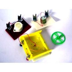 Прилад для демонстрації перетворення світлової енергії