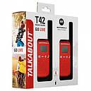 Рация Motorola Talkabout T42 TWIN PACK, красная, фото 3