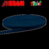 "Лента ременная ""Мерам"" 15мм (50м/боб) Синий темный, фото 1"