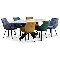 Деревянный круглый стол от производителя DomRom