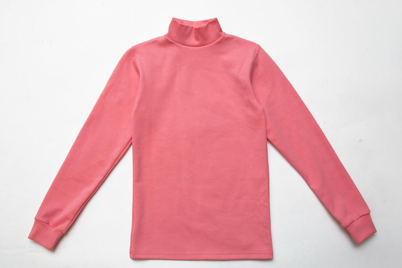 Водолазка детская классическая, персиково-розовая
