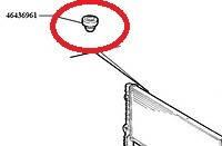 Втулка крепления радиатора верхняя Doblo 46436961 (14753)