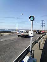 Комплект мобильных светофоров для реверсивного движения
