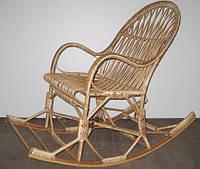 """Кресло-качалка """"КК-1ж"""". Размер можно изменять. Плетеная мебель из лозы"""