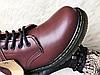 Женские ботинки Dr Martens Womens Boots 1460 Smooth Cherry Red 11821600, фото 3