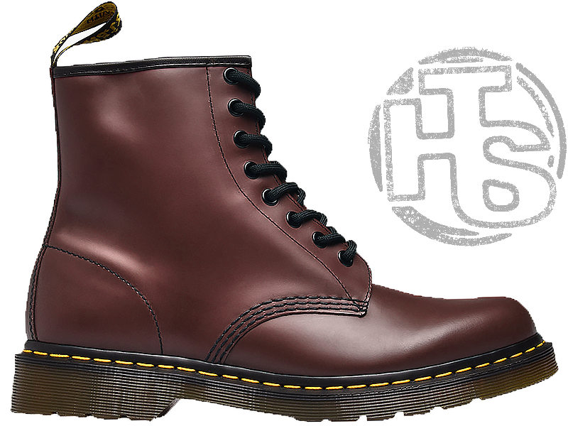 Женские ботинки Dr Martens Womens Boots 1460 Smooth Cherry Red 11821600