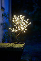 Новорічне маленьке Дерево-гірлянда для використання на вулиці (висота 45 см), фото 1