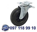 Колесо поворотное с крепежной панелью., фото 2