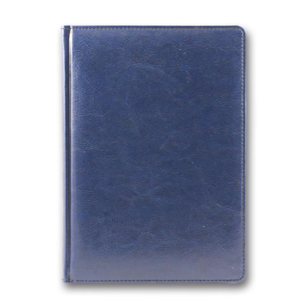Ежедневник датированный 2020 BRISK OFFICE SARIF А5, кремовый блок, синий