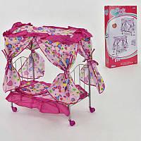 Кроватка для кукол Melobo розовая SKL11-183661