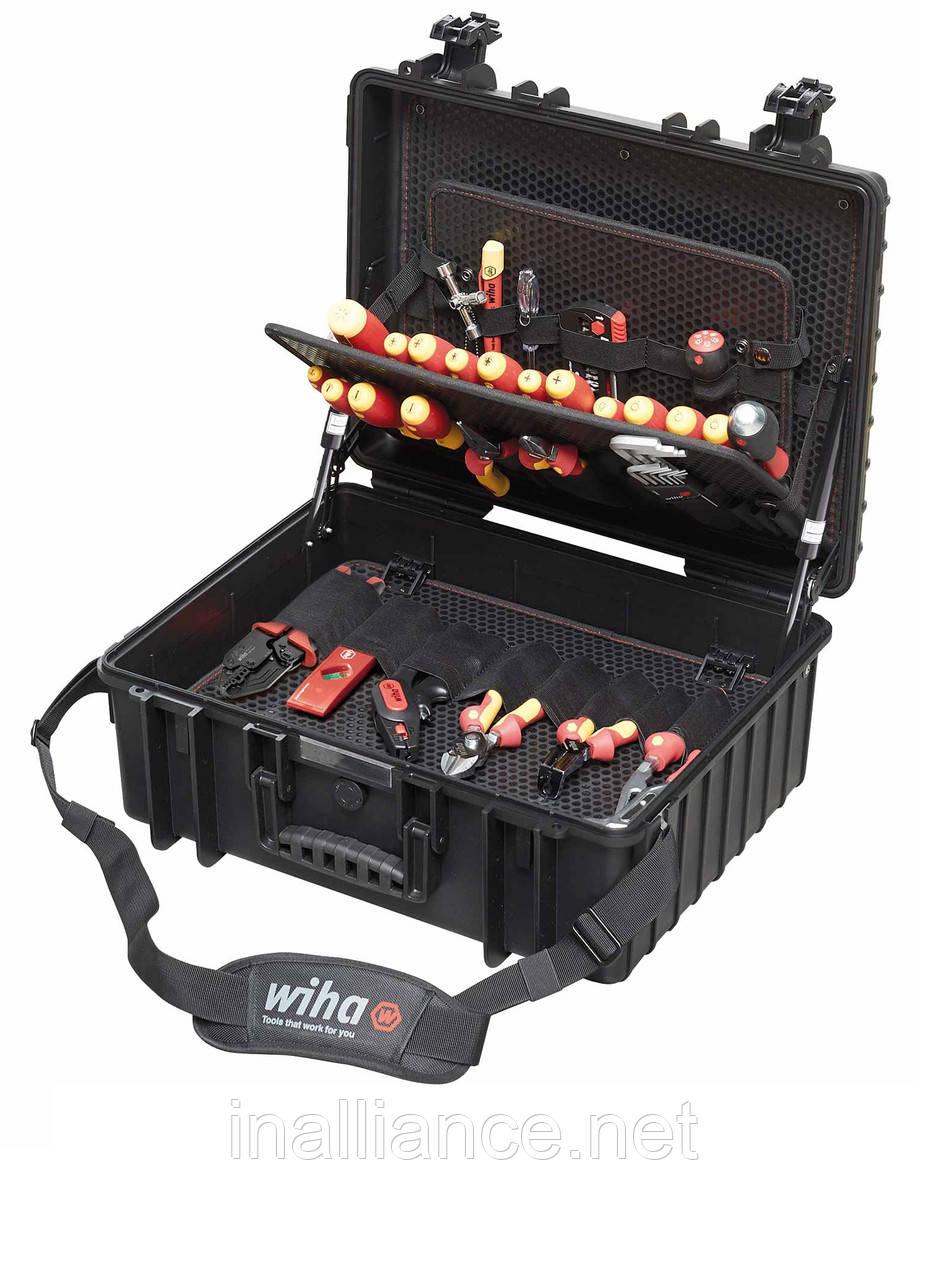 Набор инструмента для электриков XL смешанная комплектация 80 штук Wiha 40523