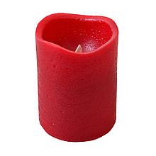 Свічка Yes! Fun воскова LED, 7.5*10 см, червона