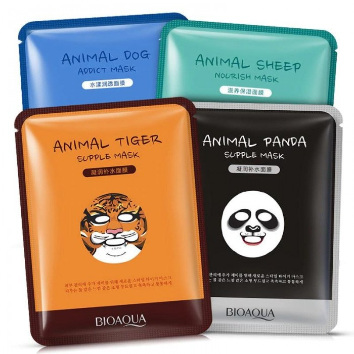 Тканевая маска для лица Animal Addict Mask