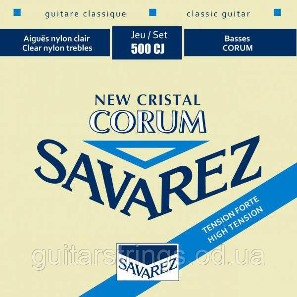 Струны Savarez 500CJ Corum New Crystal High tension