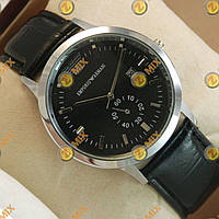 Часы Armani Silver/Black