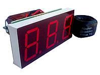 Амперметр переменного тока А-0,8-I (0-99,9А) встраиваемый, фото 1