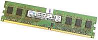 Оперативная память Samsung DDR2 2Gb 800MHz PC2 6400U CL6 (M378T5663FB3-CF7) Б/У, фото 1