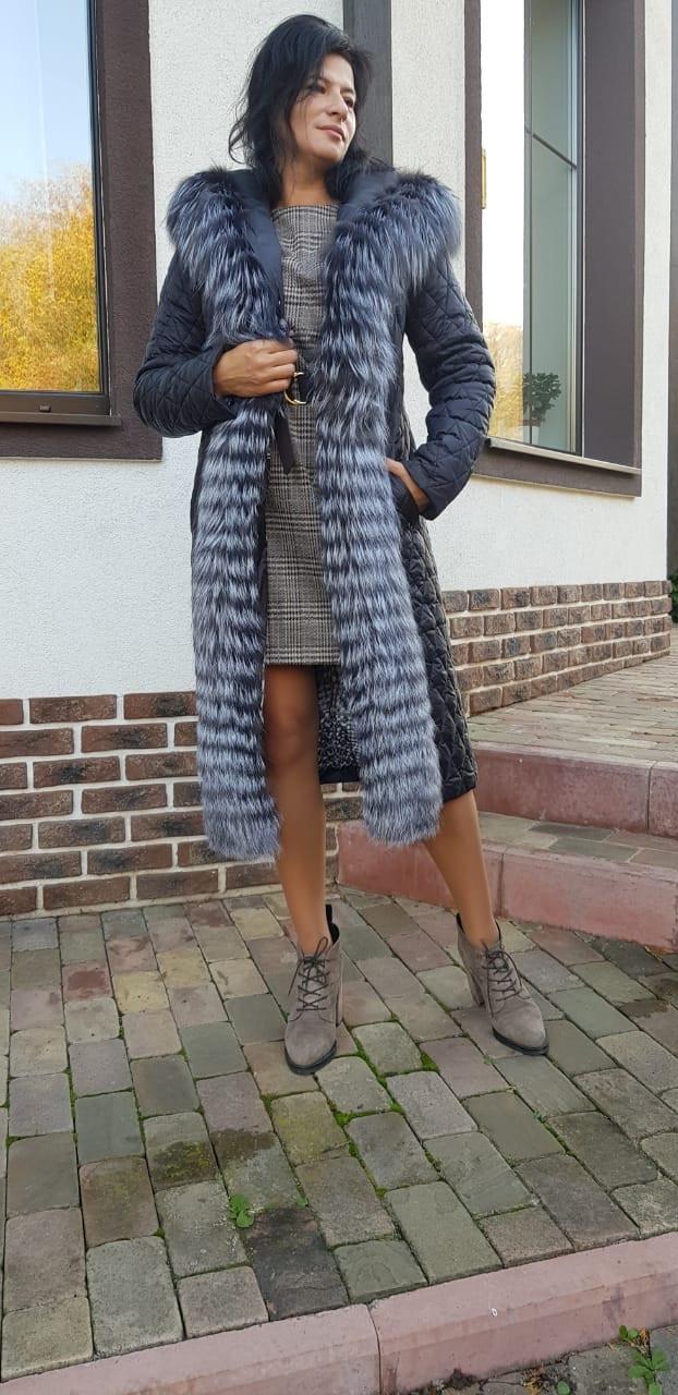 Женское зимнее  пальто 46