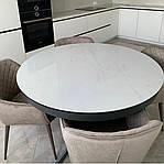 Стол Cambridge (Кембридж), керамика белый глянец (Бесплатная доставка), Nicolas, фото 2