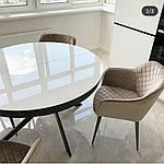 Стол Cambridge (Кембридж), керамика белый глянец (Бесплатная доставка), Nicolas, фото 4