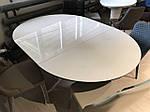 Стол Cambridge (Кембридж), керамика белый глянец (Бесплатная доставка), Nicolas, фото 7