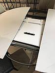 Стол Cambridge (Кембридж), керамика белый глянец (Бесплатная доставка), Nicolas, фото 9
