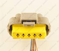 Разъем электрический 5-и контактный (32-10) б/у