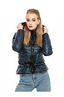 ✔️Короткая демисезонная куртка на кулиске 44-54 размера изумрудная