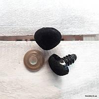 Носики для игрушек, покрытые бархатом, 14×12 (5 шт.)