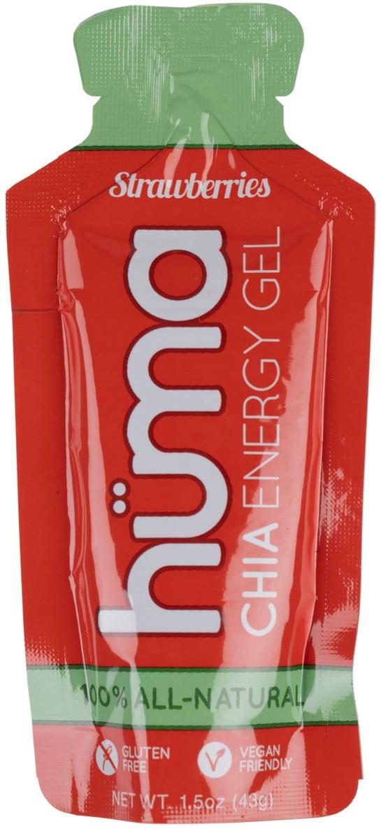 Гель энергетический HUMA - Chia Energy Gel (43 грамма) клубника