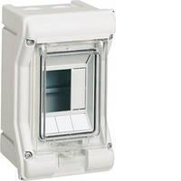Щит распределительный на 3 модуля, н/у с прозрачными дверцами, IP65, VECTOR