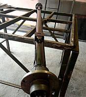 Балка АТВ-155 (01Р) для прицепа усиленная со ступицами шплинтованными Бут