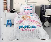 Подростковое покрывало стеганное с наволочкой Clasy Little Princess 180*220