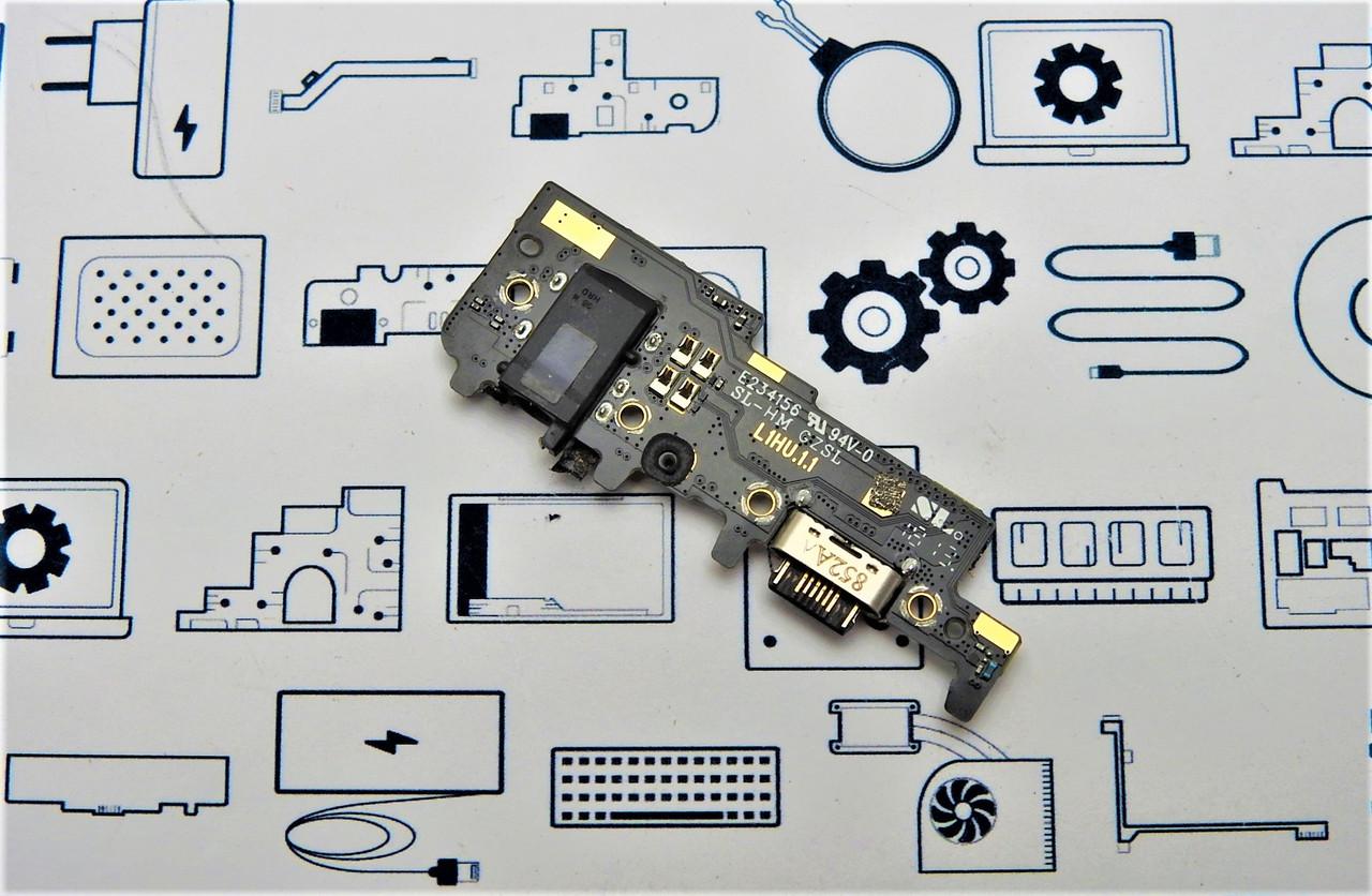 Нижняя плата Meizu 15 Lite M781H Сервисный оригинал с разборки