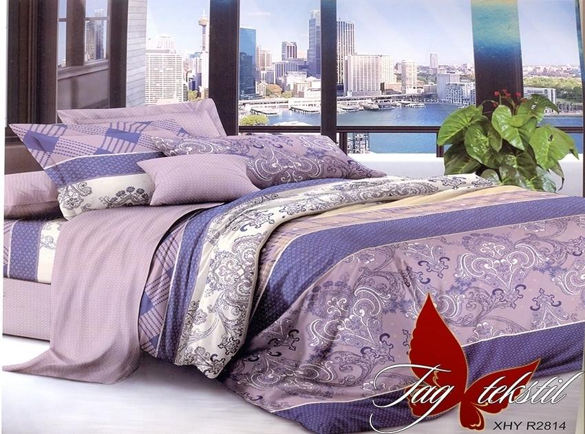 Семейный комплект постельного белья с Узорами, Поликоттон
