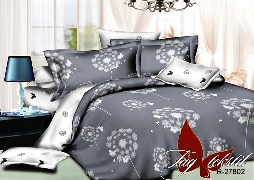 Семейный комплект постельного белья с Одуванчиками, Ранфорс