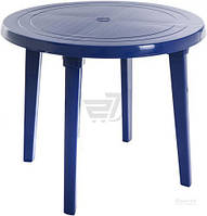 Стол пластиковый Алеана 90x90 см синий T11015017