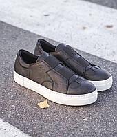 Чоловічі кросівки Chekich CH033 Black/White, фото 1